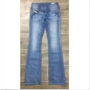 Diesel Cherock Jeans Light Wash 0RZ68 Regular Slim